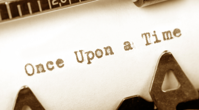 writing once upon a time image