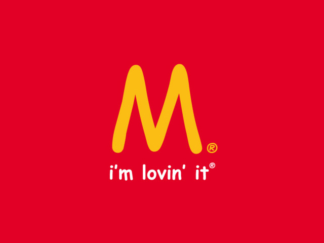 Fake Mcdonalds logo
